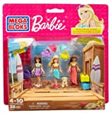 Mega Bloks Barbie Beach Vacation (Multi-Pack)