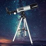 GEERTOP 90X Linsenteleskop Einstiegslevel Refraktorteleskop, 360×50 mm, für Kinder Himmelbeobachter & Aktivität Journal & Vögel beobachten von GEERTOP