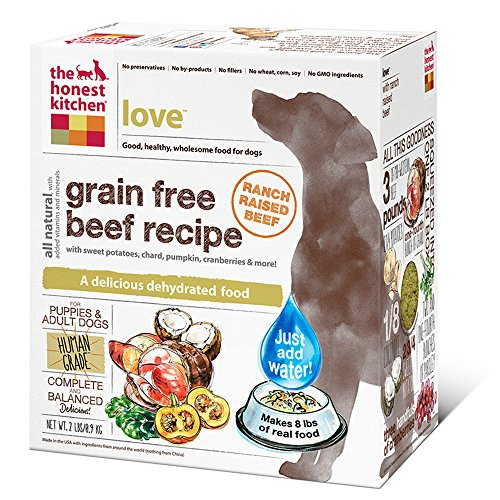 The Honest Kitchen Love: Grain Free Beef Dog Food, 2 lb