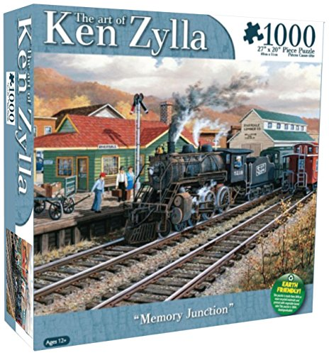 Karmin International Zen Zylla Memory Junction Puzzle (1000-Piece) - 1