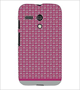 PrintDhaba Pattern D-1588 Back Case Cover for MOTOROLA MOTO G (Multi-Coloured)