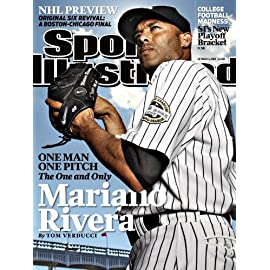 Mariano Rivera Sports Illustrated Cover MLB New York Yankees 8x10 Photo