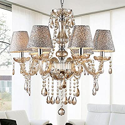 Crystal Chandelier Lighting 6 Lights Fixture Pendant Ceiling Lamp Lighting BTL8 ;from#bestdeal778