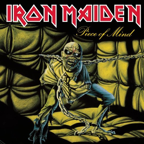 Original album cover of Piece of Mind by Iron Maiden