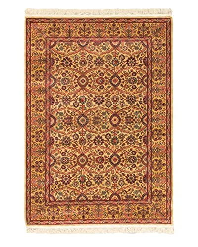 Royale Rug, Dark Copper/Light Yellow, 5' 3 x 7' 6