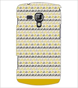 PrintDhaba Cycle Pattern D-1478 Back Case Cover for SAMSUNG GALAXY S DUOS 2 S7582 (Multi-Coloured)