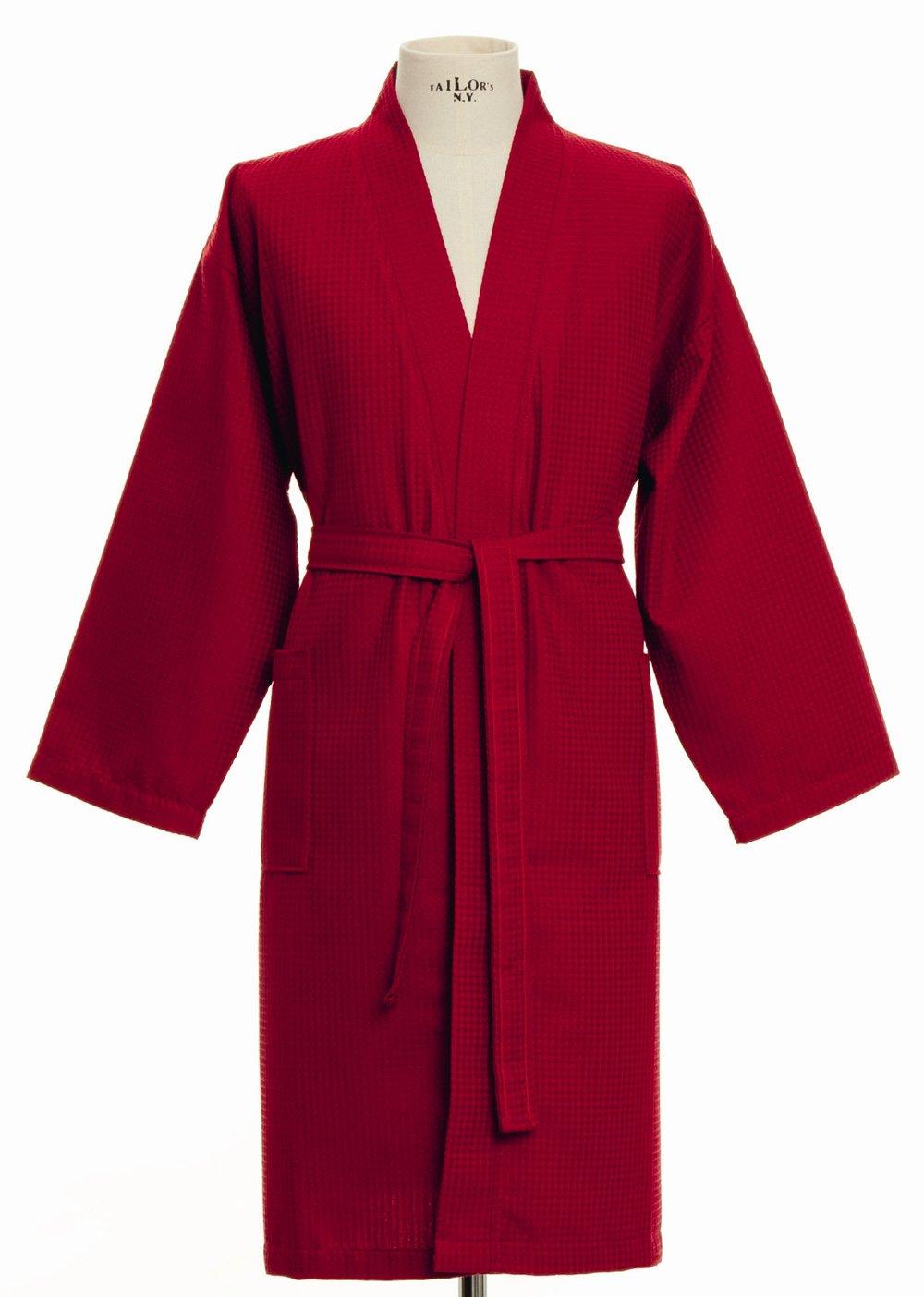 Möve Kimono Homewear Waffelpiquee Größe S, rot    Kundenbewertung und weitere Informationen