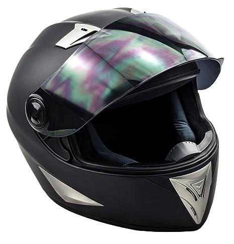 SOXON ST-550 Fighter casque noir IntŽgral moto helmet quad scooter - XS S M L XL