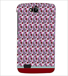 PrintDhaba Pattern D-1784 Back Case Cover for HUAWEI HONOR HOLLY (Multi-Coloured)
