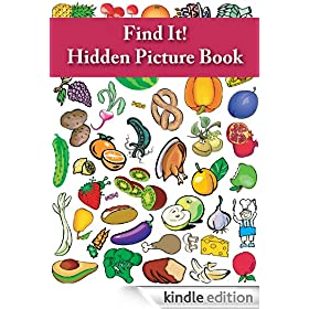 Find It! Hidden Picture Book: Food