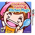 Cooking Mama 4: Kitchen Magic - Nintendo 3DS Standard Edition