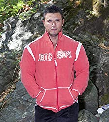 BIG SAM SweatJacket Sweater Sweatshirt Hoody UNCLE BODY DOG LOGO *3503*