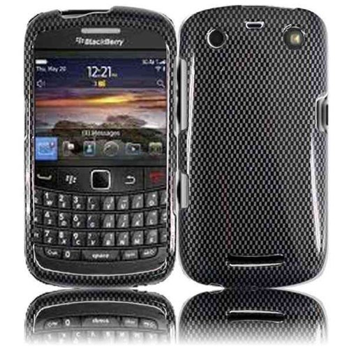 Cell Accessories For Less (Tm) For Blackberry Apollo Curve 9350 9360 9370 Design Cover Case - Carbon Fiber - By Thetargetbuys *Free Shipping*
