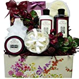 Art de' Moi White Mulberry Spa Bath and Body Care Package Gift Set