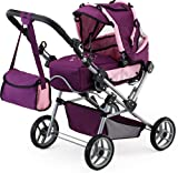Bayer Design Doll's Pram Trendsetter (Plum)
