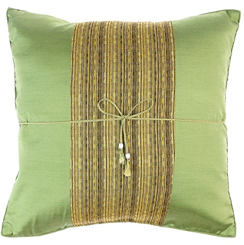 Avarada striped crepe throw pillow cover decorative sofa for Sofa cushion covers 24x24