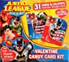 Justice League Valentine Candy Card K…