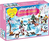 """PLAYMOBIL 9008 - Adventskalender """"Eislaufprinzessin im Schlosspark"""" - geobra Brandstätter Stiftung & Co. KG, de toys, GEOVR"""