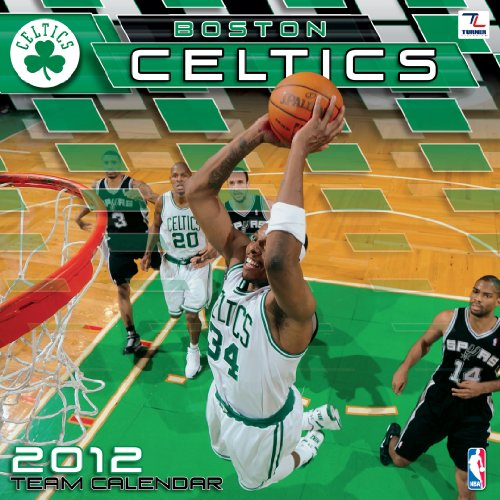 2012 BOSTON CELTICS 12X12 WALL CALENDAR