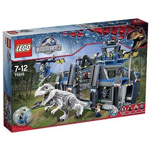 レゴ ジュラシックワールド インドミナス・レックスの脱走 75919