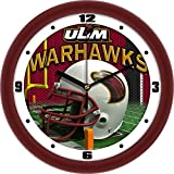 University of Louisiana Monroe Glass Wall Clock