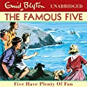 Famous Five: 14: Five Have Plenty Of Fun Audiobook by Enid Blyton Narrated by Jan Francis