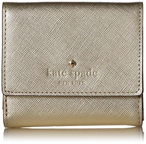 kate spade new york Cedar Street Tavy Wallet, Gold, One Size