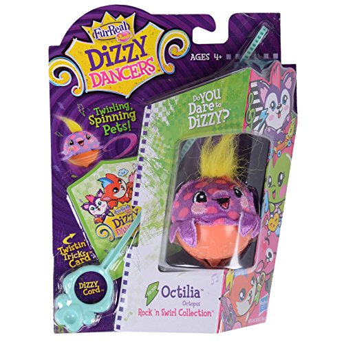 FurReal Friends Dizzy Dancers Rock 'N Swirl Collection Octilia Pet - 1