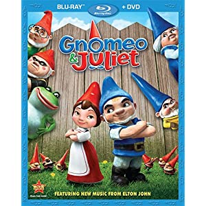 Gnomeo and Juliet Blu-ray