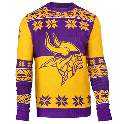 Klew Ugly Sweater Minnesota Vikings