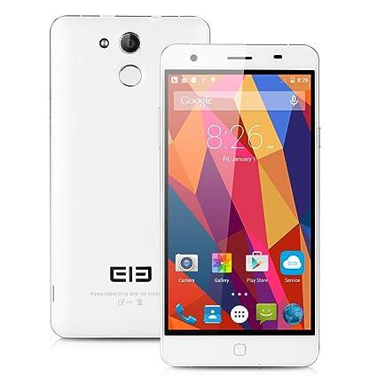 "Elephone P7000 LTE 4G Smartphone dšŠbloqušŠ 5.5"" 1080P FHD Gorilla glass 3 Ecran Android 5.0 MT6752 Octa Core 1.7GHz Dual SIM RAM 3Go ROM 16Go Deux camšŠra 13MP&5MP Dual WIFI Touch ID GPS-Blanc"