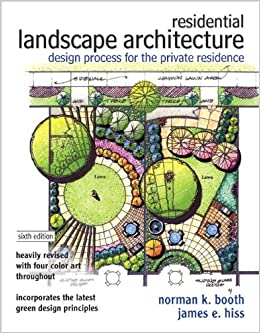 Residential landscape architecture design process for the for Garden design books
