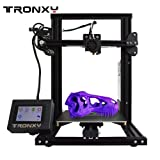 3D Printer XY-2 Semi-Assembled Metal Frame Structure with Free Sample PLA Filament 8G SD Card Preloaded Printable 3D Models(XY-2) (Color: XY-2)