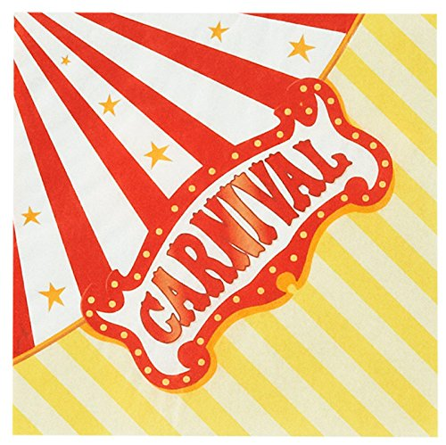 Carnival Party Carnival Games Beverage Napkins (20)