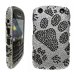 Blackberry Curve 9320 Black And Silver LOVE MY CASE  BlackBerry 9320