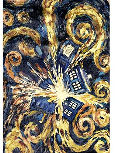 Doctor Who Exploding Tardis 59 x 29 1/2 Inches Beach Towel