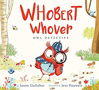 Book Cover: Whobert Whover, Owl Detective