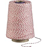 ChefLand Red and White Baker's Twine (2,300-Feet) * Professional Grade *