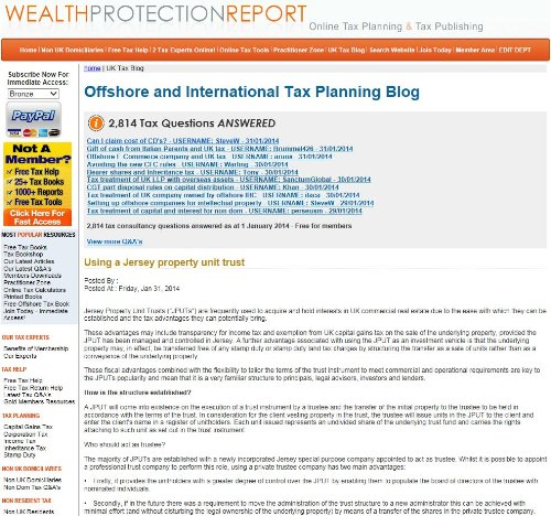 Offshore and International Tax Planning Blog