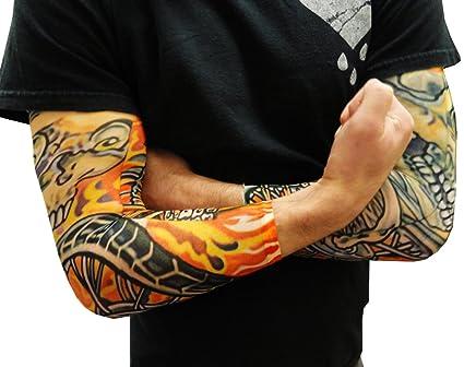 Flame Skull Sleeve Tattoos Tattoo Sleeves Skull And
