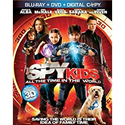 Spy Kids 4: All The Time In The World (Three-Disc 3D Blu-ray / Blu-ray / DVD Combo + Digital Copy)