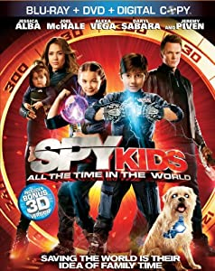 Spy Kids 4 (3D Blu-ray + Blu-ray + DVD + Digital Copy)