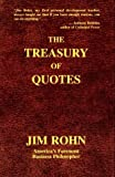 img - for Treasury of Quotes by Rohn, E. James, Rohn, Jim (1996) Hardcover book / textbook / text book