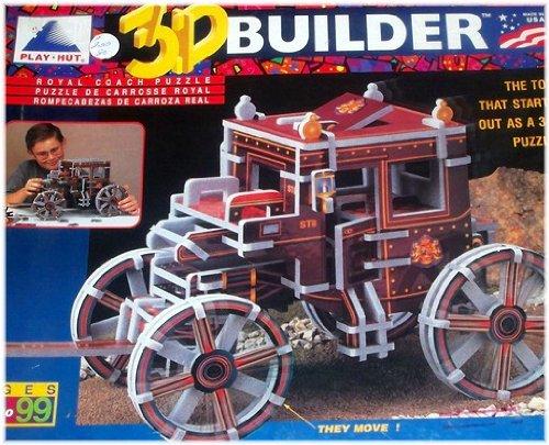 Cheap Play Hut 3D Builder Royal Coach Puzzle (B003BW10GW)