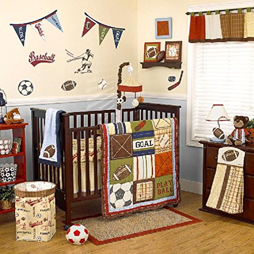 COCALO PLAY BALL 4-PIECE CRIB BEDDING SET - 1