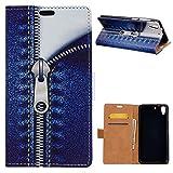 KM-WEN® Schutzhülle für HTC Desire 728G Bookstyle