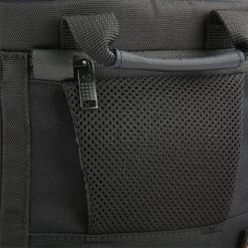 VANGUARD ショルダーバッグ Quovio 23 一眼レフ/24-70mmレンズ装着+交換レンズ1~2本+機材類対応 ブラック