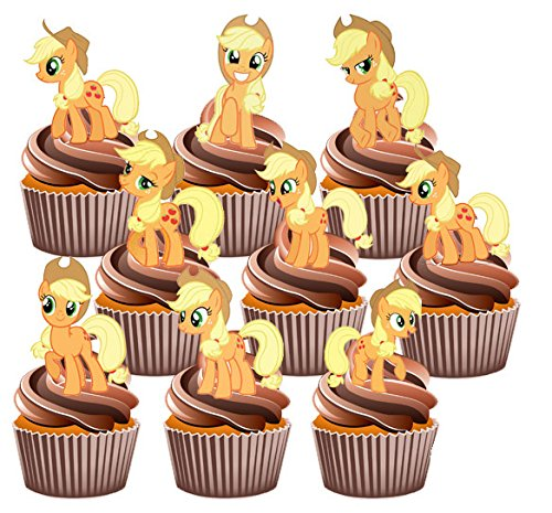 my-little-pony-apple-jack-cake-decorations-12-edible-stand-up-cupcake-toppers