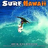 Calendrier mural 2016 - Surf à Hawaii - production écologique - 28x28 cm