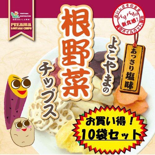 ヨコヤマ よこやまの根野菜チップス 70g